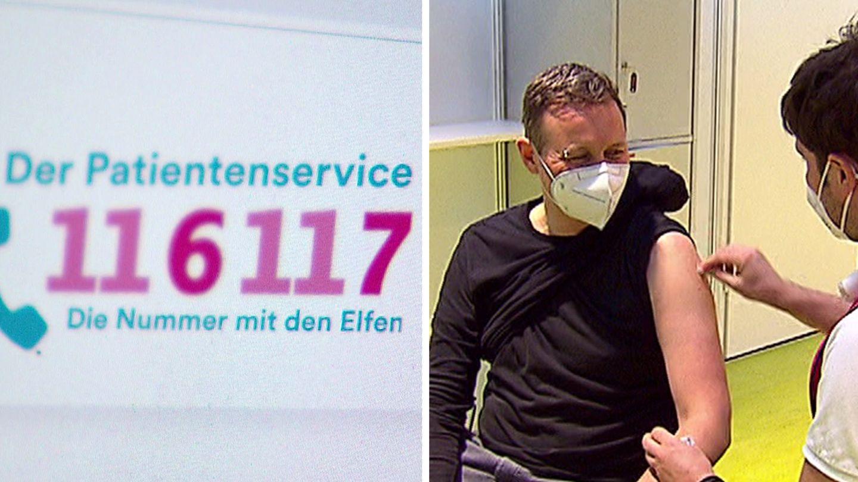 Impf-Chaos in vielen Regionen,Hotline überlastet – wie komme ich an einen Termin?