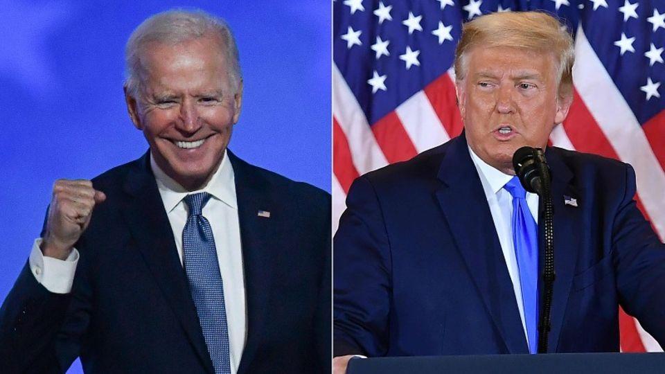 Biden und Trumpunterstrichen bei ihren Wahlkampfauftritten in Georgia die Bedeutung der Stichwahlen für das gesamte Land.
