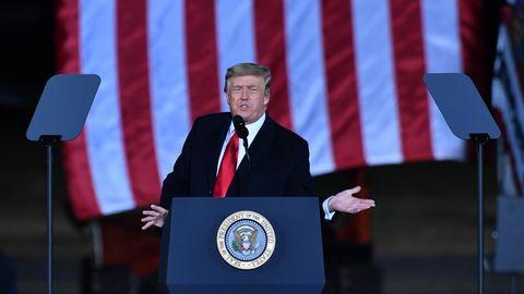 Senatsstichwahl in Georgia: Heute könnte Trump das werden, was er am meisten hasst: ein großer Verlierer