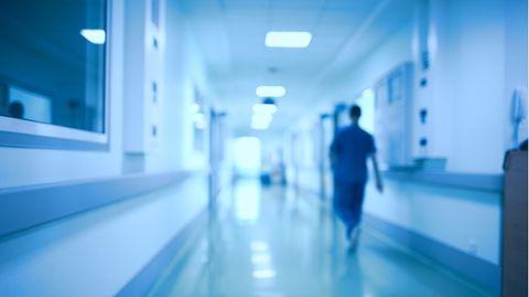 Ein Klinikflur