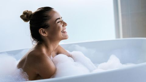 Eine faltbare Badewanne ist besonders praktisch