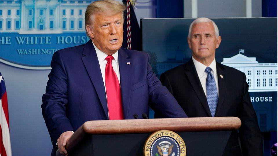 Formelle Bestätigung der Wahl: Die Stunde des Mike Pence – heute muss sich der Vizepräsident für die Verfassung oder für Trump entscheiden