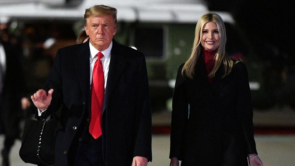 Ivanka Trump und Donald Trump