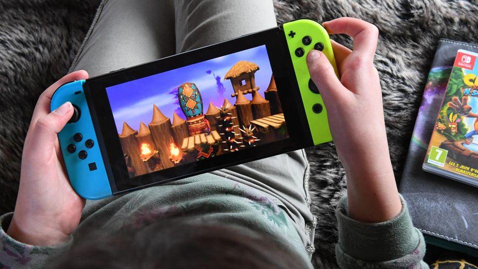 Die Nintendo Switch bleibt ein Dauerbrenner