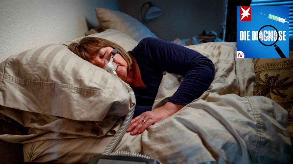 Podcast Diagnose: Atemnot in der Nacht