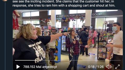 Los Angeles: Maskenverweigerer stürmen Einkaufszentrum und Supermarkt