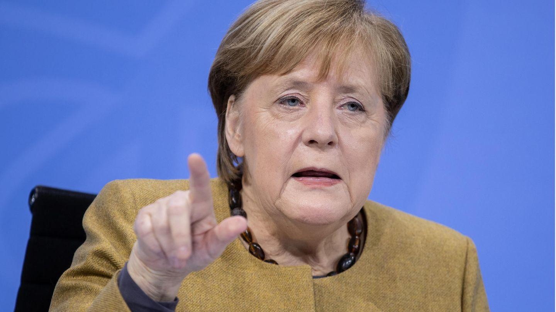 Lockdown-Verlängerung: Kanzlerin Merkel über das Arbeiten im HomeOffice