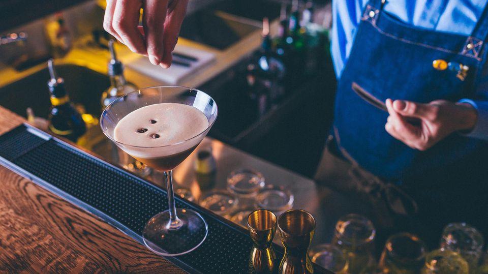 Der Espresso Martini gehört zu den beliebtesten Cocktails.