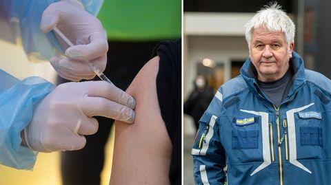 Ortsbesuch im Impfzentrum: Produktion des Impfstoffs bestimmt das Tempo der Maßnahme