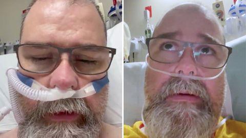 Coronavirus: Chuck Stacy –Mann aus Florida fordert US-Amerikaner zum Tragen von Masken auf