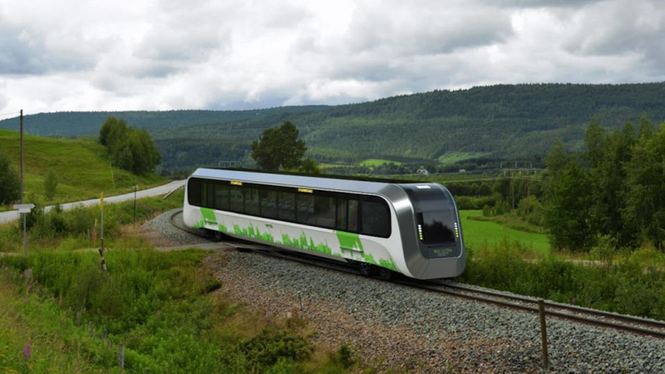Mit solchen Triebwagen können Nebenstrecken ökologisch betrieben werden