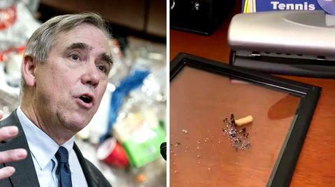Senator zeigt in Video komplett verwüstetes Büro