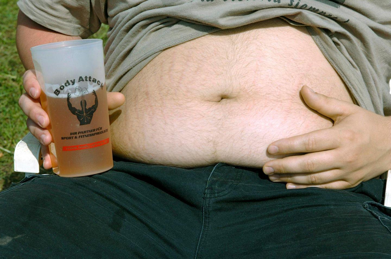 Bauch magersucht dicker Leben mit