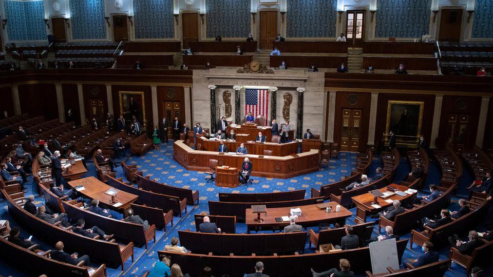 US-Senat-Sitzung