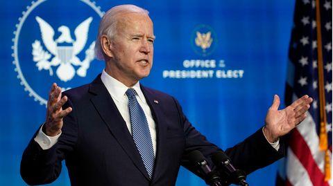 Joe Biden bei einer Ansprache