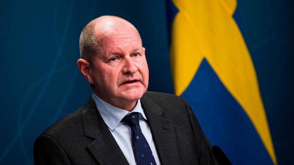 Nach einer Kanaren-Reise zurückgetreten: Dan Eliasson, Leiter der schwedischen Katastrophenschutzbehörde
