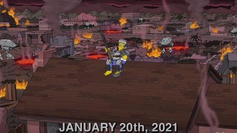 """Weltuntergang bei den """"Simpsons"""""""