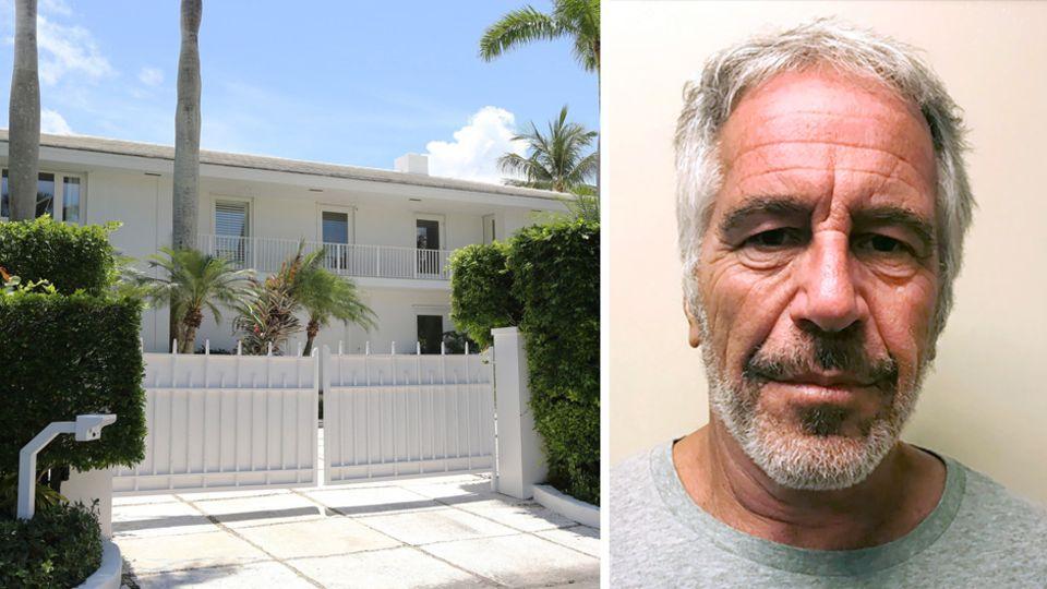 Jeffrey Epsteins Villa in Palm Beach