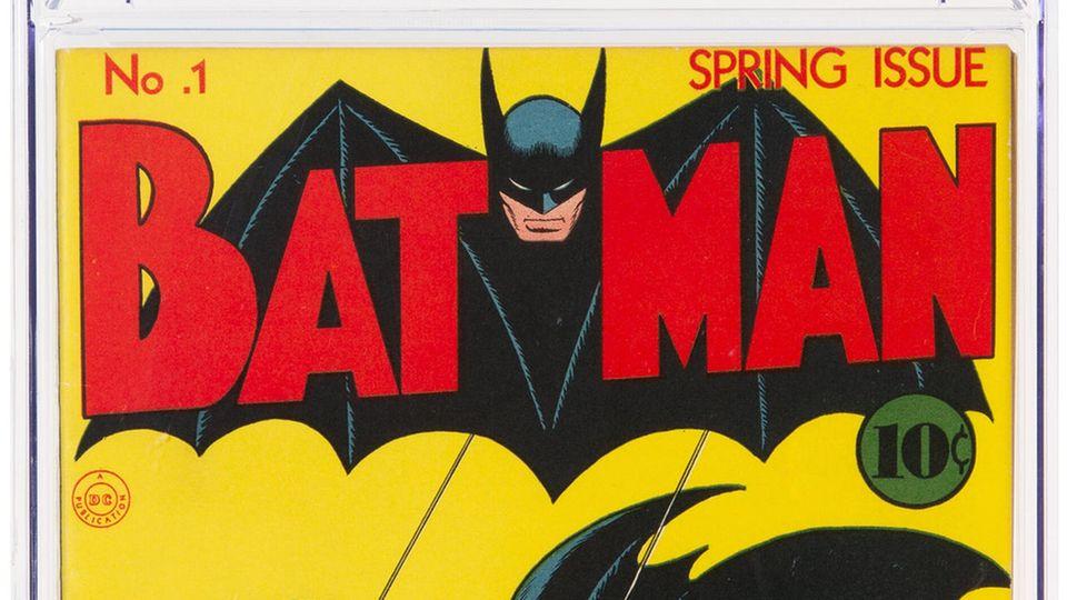 DasBatman-Comic-Heft aus dem Jahr 1940