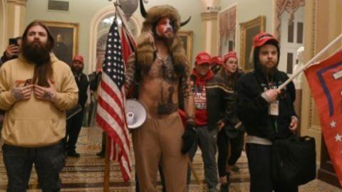 Trump-Unterstützer im Kapitol