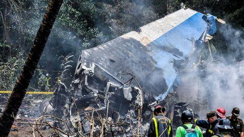 Überreste der im Mai 2018 auf Kuba abgestürzten Boeing 737-200
