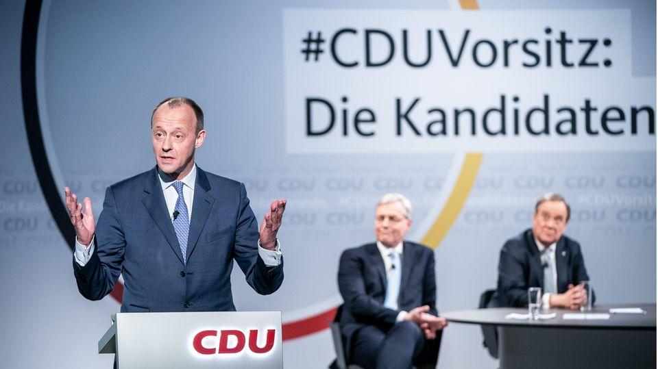 Kampf um CDU-Spitze: Warum Friedrich Merz Favorit ist für den CDU-Vorsitz – aber Markus Söder Kanzler werden könnte