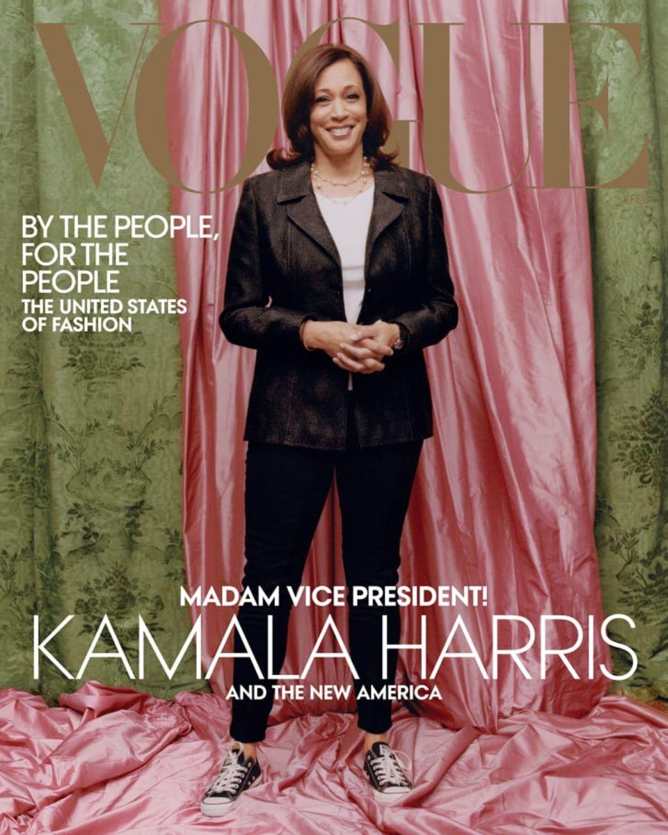 """Das Cover der US-""""Vogue"""" im Februar"""
