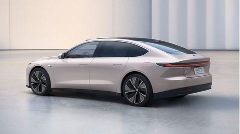 Der ET7 zeigt die nächste Generation von E-Autos.
