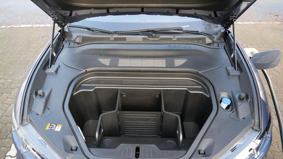 Große Klappe: Vorderer Kofferraum desFord Mustang Mach e