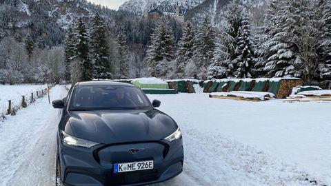 E-Mobilität: 3000 Kilometer mit dem Elektro-Mustang durch den Winter