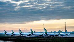 Platz 7:Transavia  Dieniederländische Billigfluggesellschaft ist mit einer Flotte von mehr als 40 Flugzeugen vom Typ Boeing 737-700 und -800 in ganz Europa unterwegs und verzeichnet seit ihrer Gründung im Jahre 1966 keine Zwischenfälle mit Todesopfern.