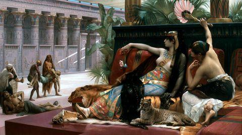 Kleopatra lässt Gifte erproben vonAlexandre Cabanel.