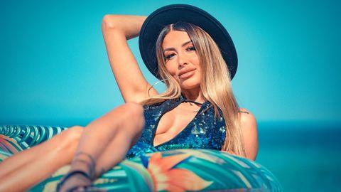Christina Dimitriou macht aus ihren Schönheitskorrekturen keinen Hehl.