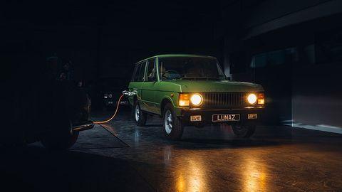 Lunaz Design elektrifiziert den Range Rover Series I