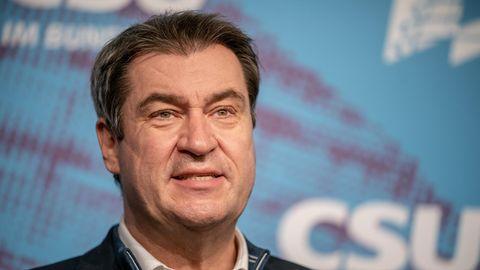 Markus Söder (CSU), Ministerpräsident von Bayern und CSU-Vorsitzender