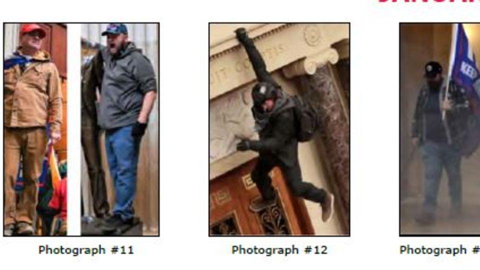 Wer ist der Mann, der an Brüstung hängt?