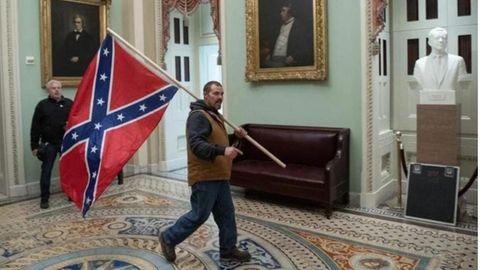 Wer ist der Mann mit der Südstaatenflagge?