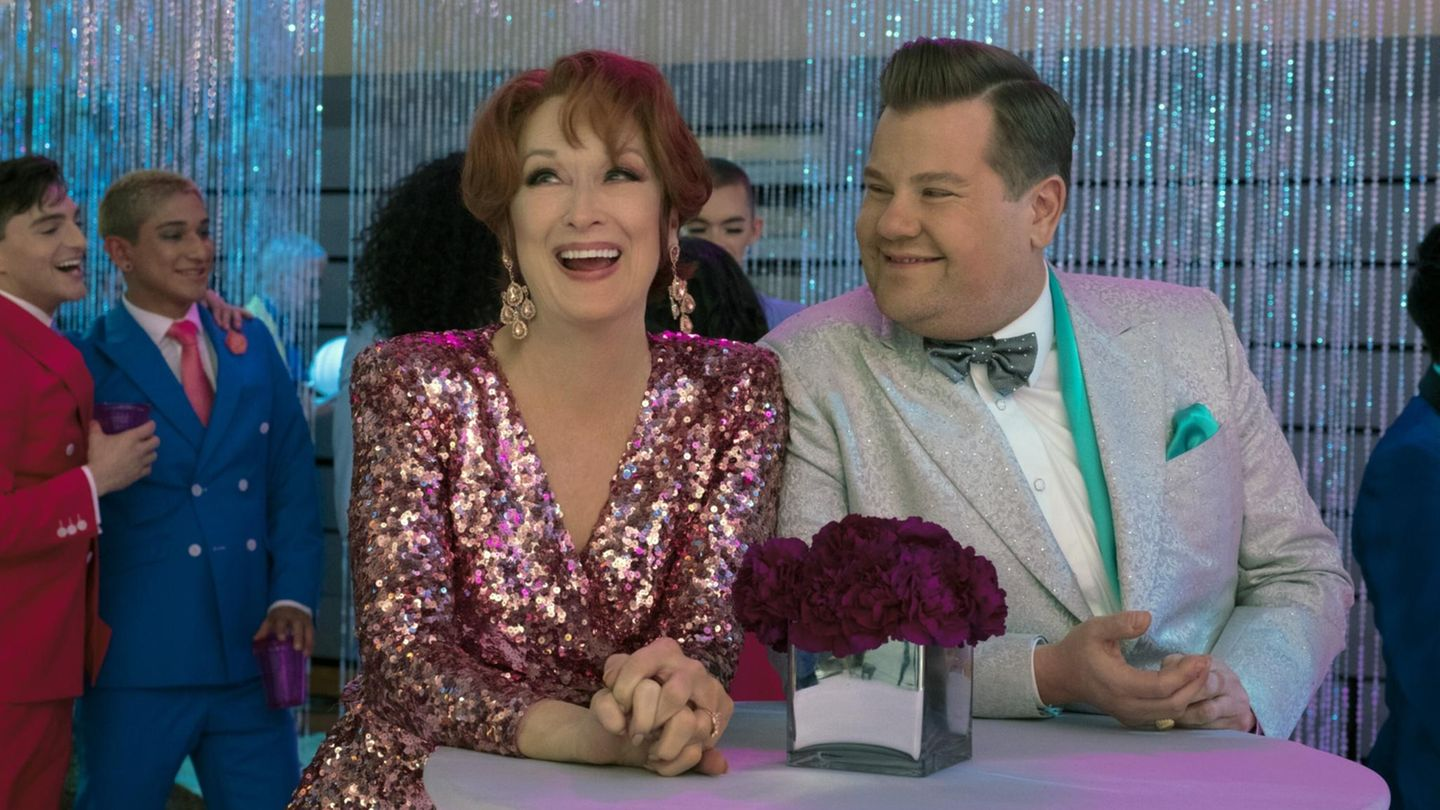 """The Prom"" mit Meryl Streep und James Corden"