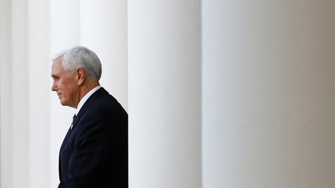 Der scheidende US-Vizepräsident Mike Pence