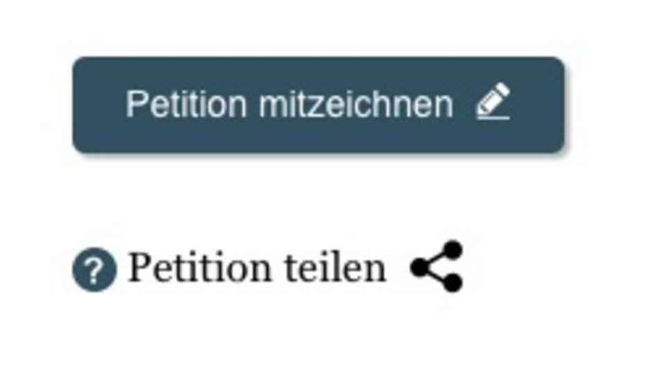 Um digital zu unterschreiben, muss dieser Button angeklickt werden