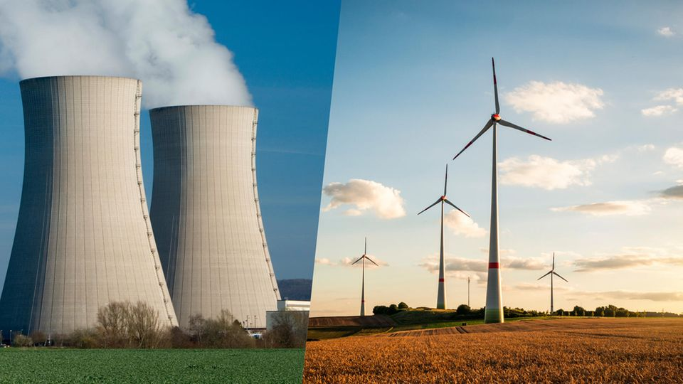 CO2-Bilanzen : Der Mythos vom Klimaschützer: Warum Atommeiler keine Alternative zu Windrädern sind