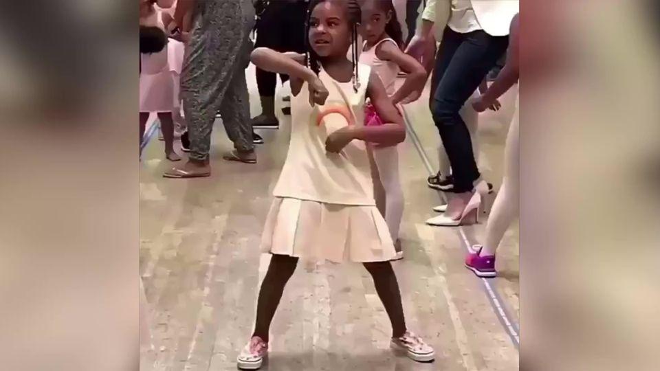 Blue Ivy Carter: Süßes Tanz-Video von Beyoncés Tochter begeistert Internet
