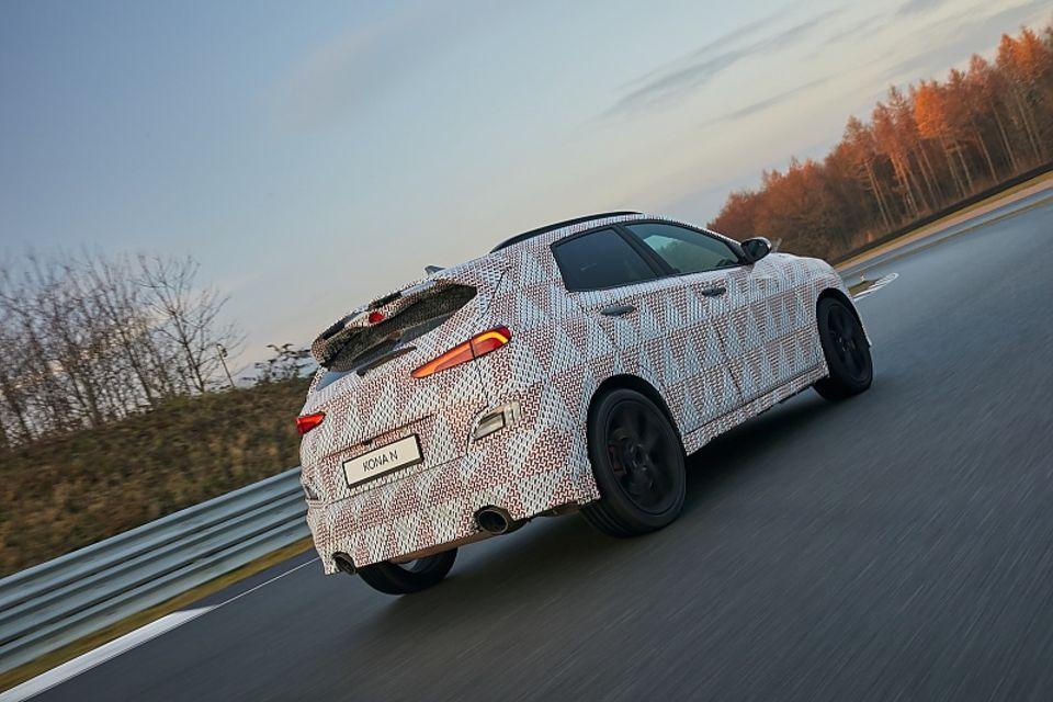 Hyundai Kona N Bilster Berg Prototyp