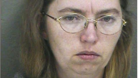 LisaMontgomery nach ihrer Festnahme im Jahr 2004