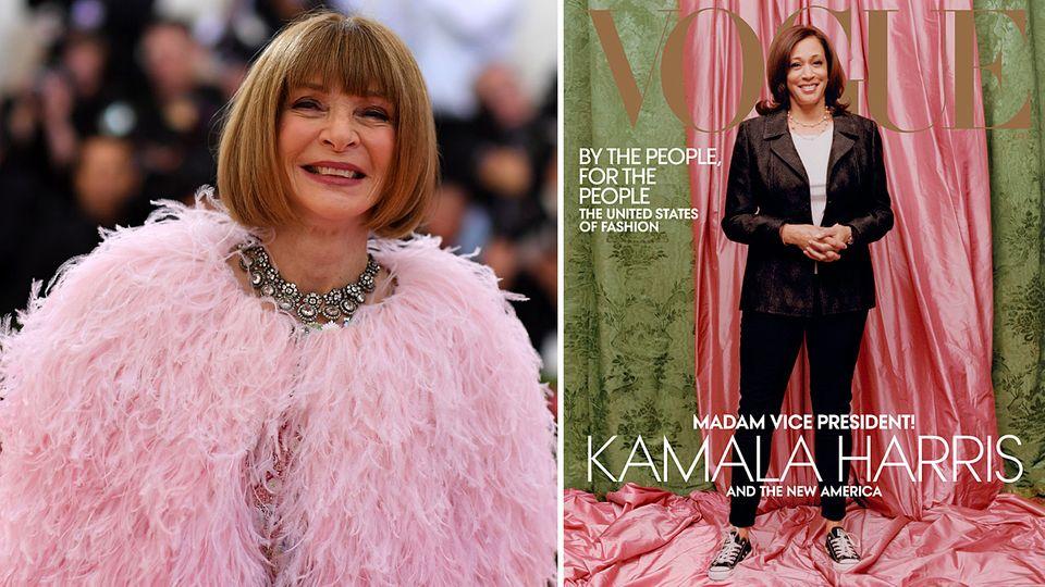 """Anna Wintour verteidigt """"Vogue""""-Cover von Kamala Harris"""
