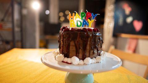 Eine Geburtstagstorte als Symbolfoto für Nachrichten aus Deutschland