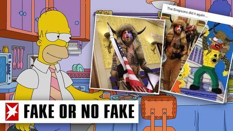 """Das """"Simpsons-Orakel"""": Hat die Serie den Sturm aufs US-Kapitol wirklich vorhergesehen?"""