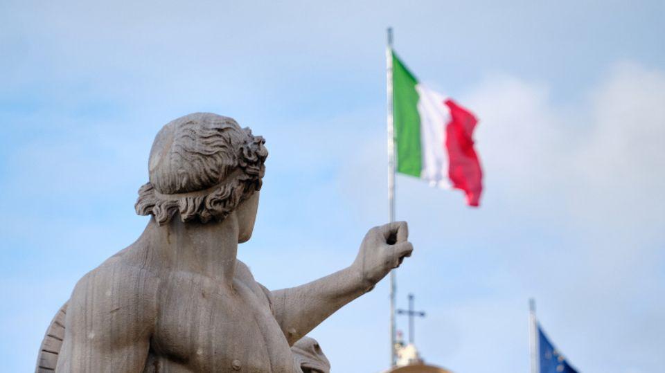 Während eines Ministertreffens wird in Rom über ein finanzielles Rettungspaket abgestimmt.
