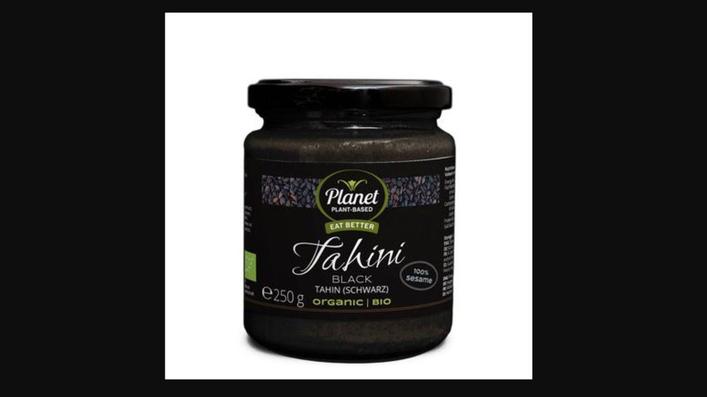 Rückruf von Tahin mit Samen.
