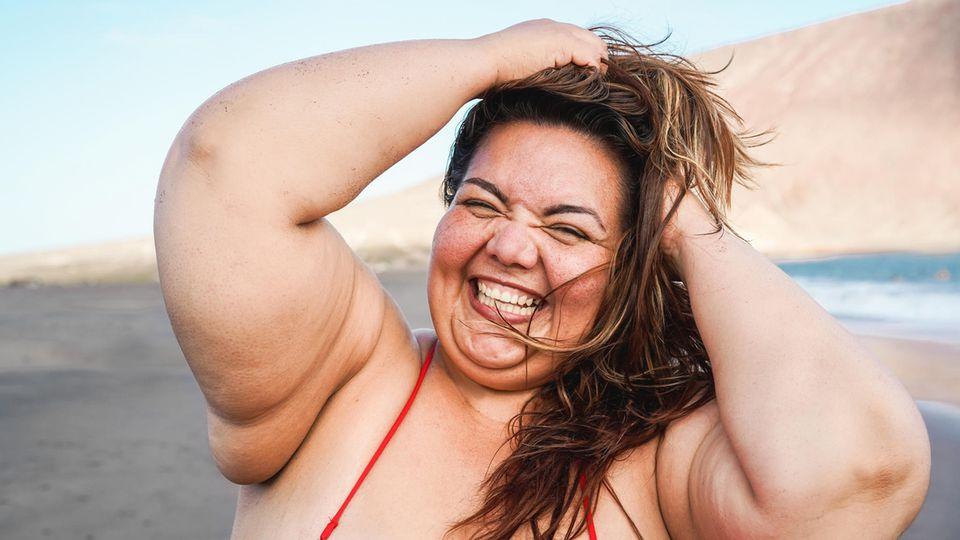 Statt ständig auf das Körpergewicht zu achten, ist es viel wichtiger, sich anzunehmen und zu genießen